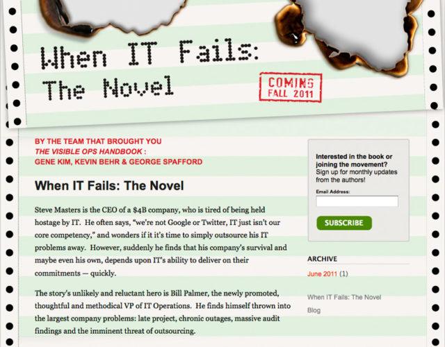 When 'IT' Fails